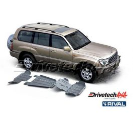 DRIVETECH 4X4 UNDERBODY ARMOUR 6mm ALLOY