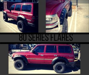 80 Series Flares