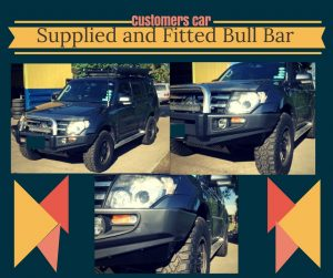 Rhy's bull bar advert