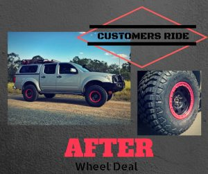 Wheel Deal advert 2