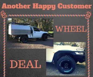 Customer ride wheel deal