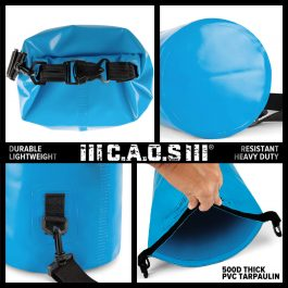 CAOS® DRY BAG 10L (BLUE)