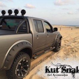 Kut Snake Flares - Nissan Navara D40 2005-2015 - Full Set