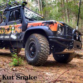 Kut Snake Flares - Land Rover Defender 1988-2017 -Front Set