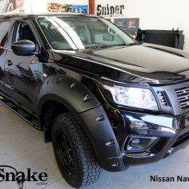 Kut Snake Flares - Nissan Navara NP300 -Standard 85mm - Full Set