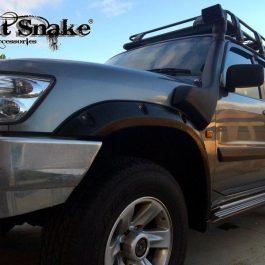 Kut Snake Flares  - Nissan Patrol GU Series 1,2,3 -1997-2006 - Front Set
